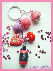 Lushtastic Keychain by Ambient-Lullaby