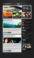 Magazine/blog theme by nodethirtythree