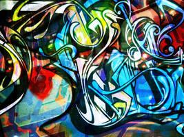 Grafitti Surprise by liquidcow