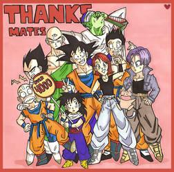 DBZ: thank you by shotout