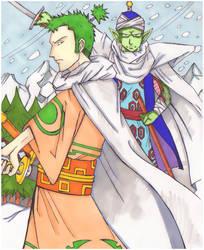 Cross Epoch - Piccolo and Zoro by shotout