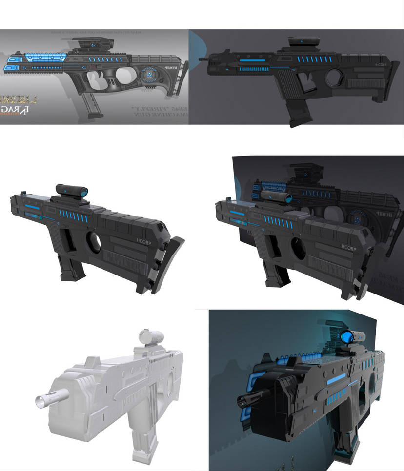 HC-EE45-Firefly Submachine Gun by Net-Zone-Network