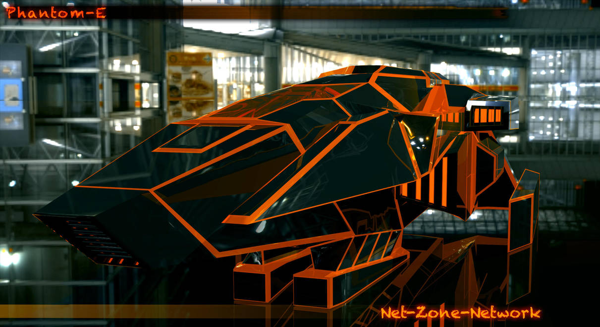 Phantom-E Ship by Net-Zone-Network