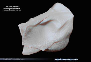 Sneak peek on New 3D Modeling Sculptures Art.. by Net-Zone-Network