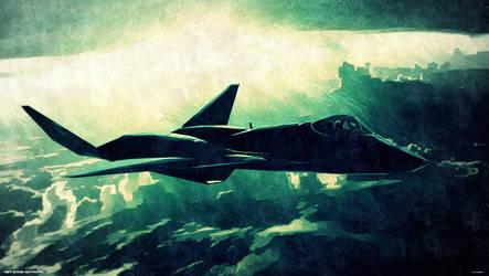 YF-23 Black Widow|PaintArt by Net-Zone-Network