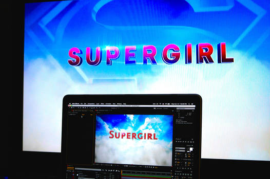 Supergirl Title Trailer WIP by Net-Zone-Network