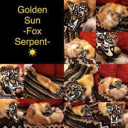 Fox Serpent - Golden Sun - For Sale! by Hawock
