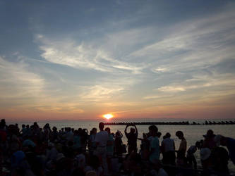 sunset by SukunaYuh