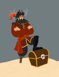 Blackbeard by PezZcado