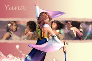 Yuna Wallpaper 2 by ShinraWallpapers