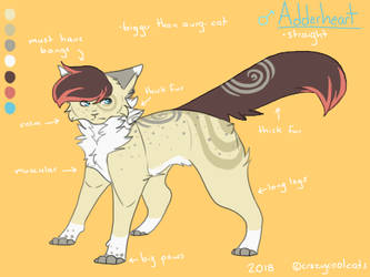 Adderheart Reference Sheet 2018 by crazycoolcats