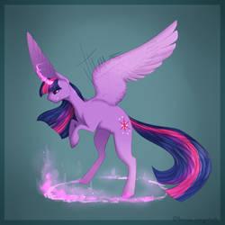 Twilight Sparkle by crazycoolcats