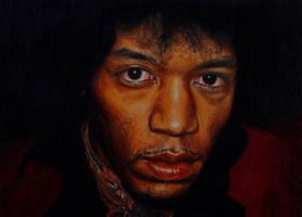 Jimi Hendrix by GW78