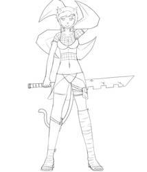 Ninja Krystin by mkasuperfan