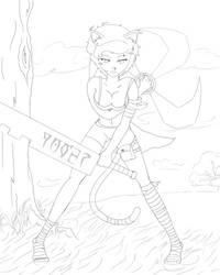 Ninja Krystin (2) by mkasuperfan