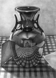 vase reflections by artymarty
