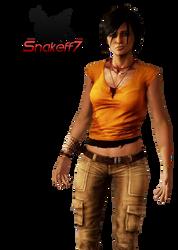 Chloe - Render 2 by snakeff7