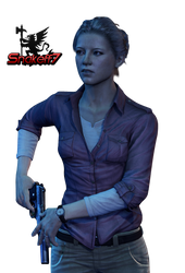 Elena Fisher - Render 2 by snakeff7