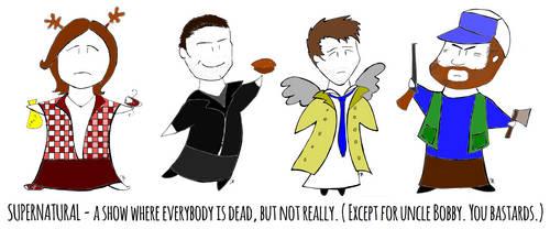 Supernatural Comic by SzyszkaKultury