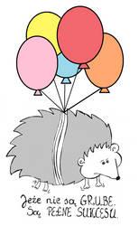 Hedgehogs are not fat! by SzyszkaKultury