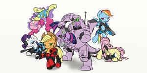 My Little XCom, Aliens are Meanie Heads by Inkwell-Pony