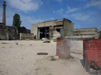 Industrial Wasteland by ygrigoriev