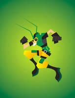 Grasshopper by meganima