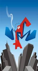 Vector Spiderman by meganima