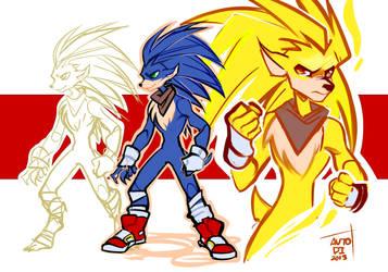 Design Sonic by autodi