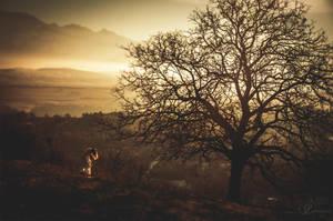 Bow to Yggdrasil by Lorelyne