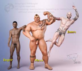 Reviewesque: Jasper, Maxx HD, James by vwrangler
