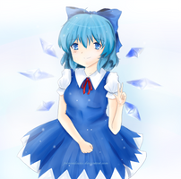Cirno by PrincessLouise