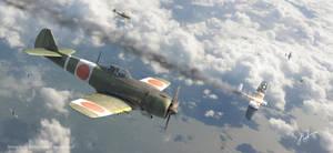 Japans Greatest Hawks - Ki-84 Frank by rOEN911
