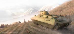 The convertible tank Bt-sv 2 by rOEN911
