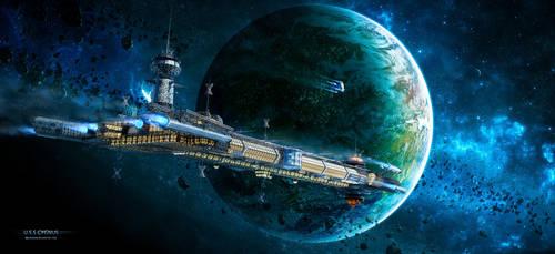 U.S.S. CYGNUS - LOST IN DEEP SPACE by rOEN911