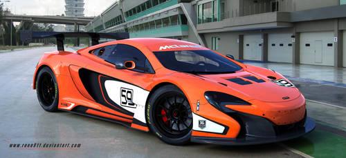 McLAREN 650S GT3 by rOEN911