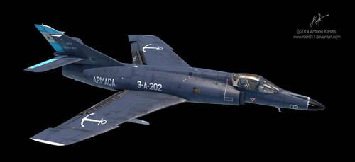 Dassault-Breguet Super Etendard - WIP by rOEN911
