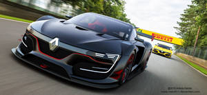 The Race - Renault RS01 by rOEN911