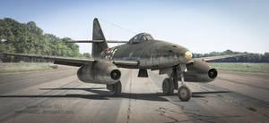 Messerschmitt Me262 by rOEN911