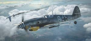 Bf109  G10 Messerschmitt by rOEN911