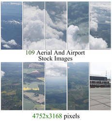 Aerial And Airport Stock Images by rOEN911