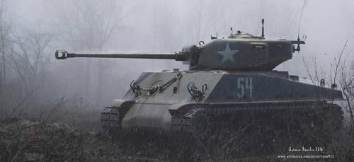 M4A3E8 Sherman Tank 3D MODEL by rOEN911