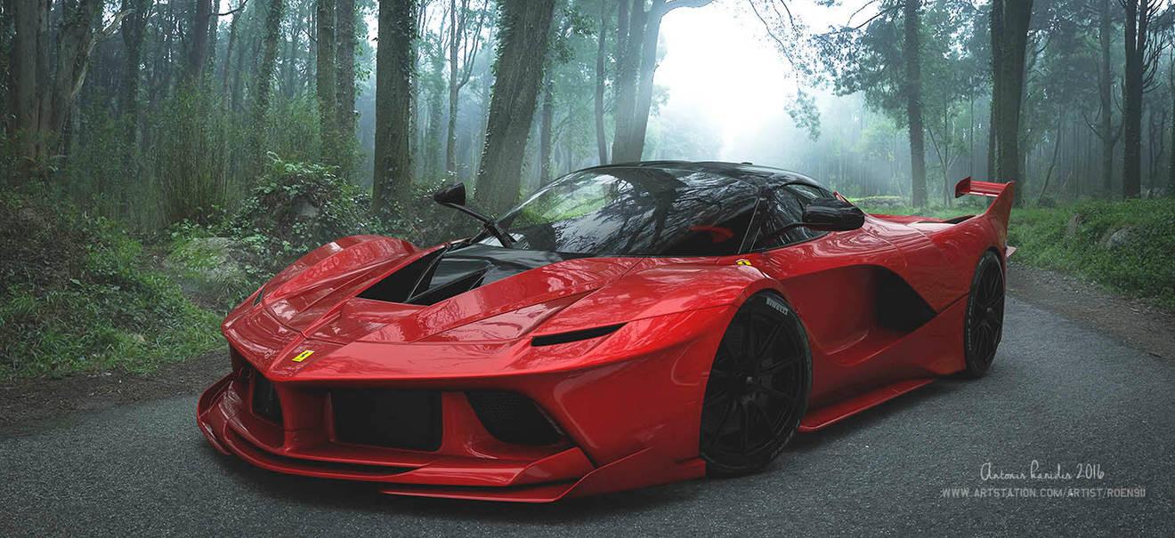 Ferrari FXXK by rOEN911