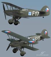 Avia b534 3D model by rOEN911