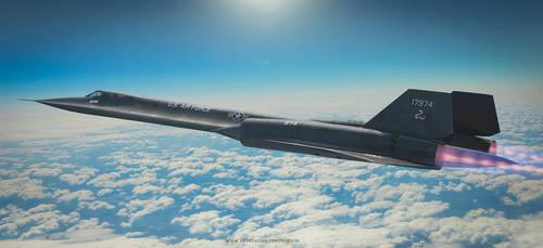 Lockheed SR-71 Blackbird by rOEN911