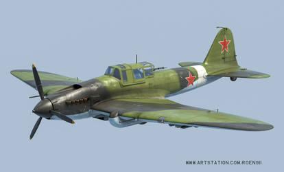 Ilyushin IL-2 Sturmovik by rOEN911