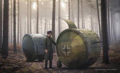 Kugelpanzer tank by rOEN911