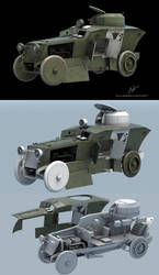 Romfell Armored Car WIP by rOEN911