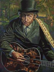 Bob Dylan by patrickjay