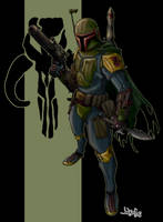 Boba in color by MastahYogah